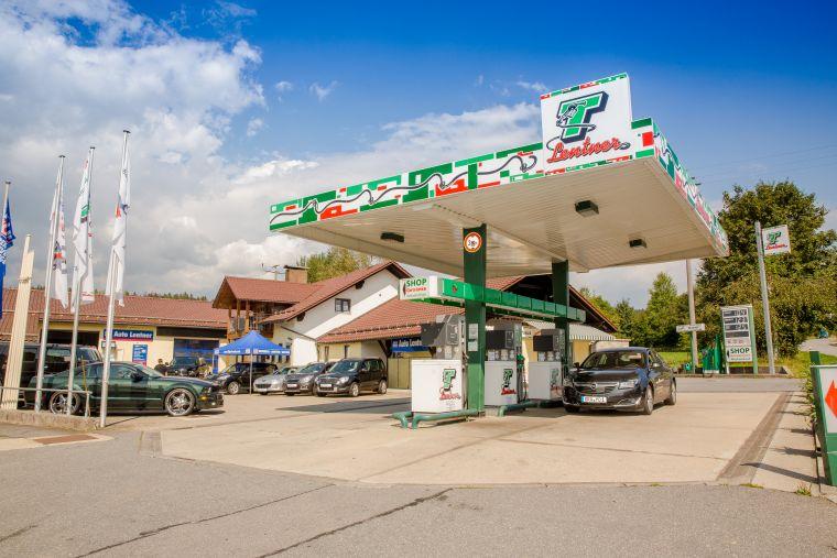 Das Autohaus Lentner mit eigener KFZ-Werkstatt.
